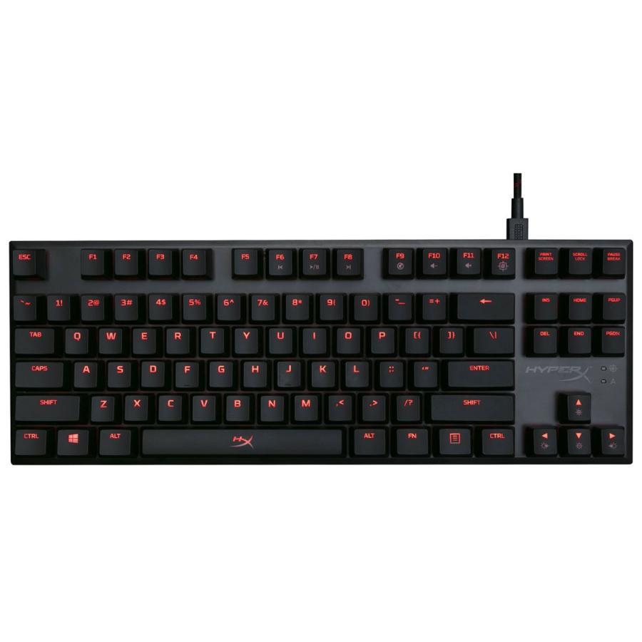 キングストン ゲーミングメカニカルキーボード 赤軸(リニア) 英語配列87キー Kingston HyperX Alloy FPS Pro Keyboard HX-KB4RD1-US/ R1 返品種別A
