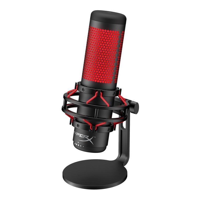 キングストン HyperX 大幅値下げランキング USB接続 スタンドアロン ゲーミングマイク Kingston QuadCast Microphone Condenser USB Gaming 年間定番 返品種別A HX-MICQC-BK