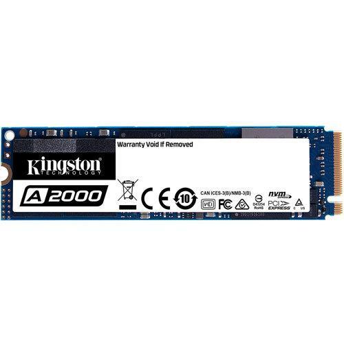 Kingston 定番の人気シリーズPOINT(ポイント)入荷 M.2 2280 NVMe PCIe Gen3x4 500GB 驚きの値段で SSD 返品種別B 500G SA2000M8 A2000シリーズ