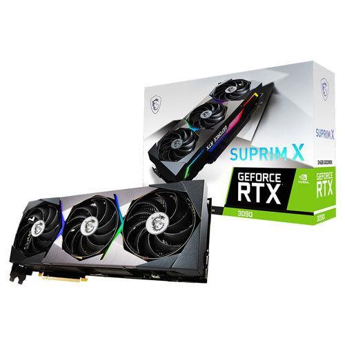 MSI PCI 高品質 Express 4.0 グラフィックスボードMSI GeForce 3090 X 返品種別B SUPRIM RTX 24G 2020A/W新作送料無料
