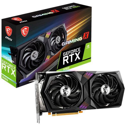 MSI PCI 無料サンプルOK 往復送料無料 Express 4.0 グラフィックスボードMSI GeForce RTX GAMING 返品種別B 12G 3060 X