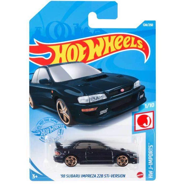 マテル ホットウィール ベーシックカー #039;98 スバル いよいよ人気ブランド Stiバージョン 返品種別B 超美品再入荷品質至上 インプレッサ HBN96 22B