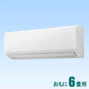 アイリスオーヤマ (標準工事セットエアコン) [6畳用] (冷房:6·9畳/ 暖房:6·7畳) GXシリーズ IRR-2219GX 返品種別A