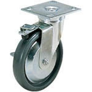 スガツネ工業 重量用キャスターSUG-31-74B-PSE(200-133393 重荷重用キャスター(エラストマー車) SUG-31-74B-PSE 返品種別A