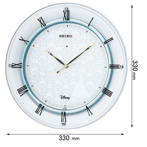 セイコータイムクリエーション 信憑 電波掛け時計 爆安プライス 大人ディズニー ディズニーシリーズ 返品種別A シンデレラ FS503W