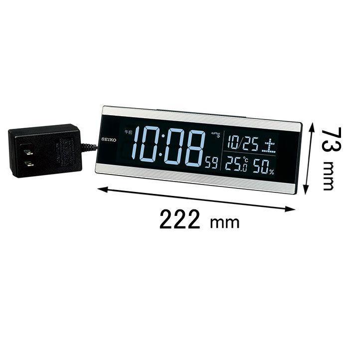セイコータイムクリエーション 電波目覚まし時計C3シリーズ DL306S 即納送料無料! 全商品オープニング価格 返品種別A