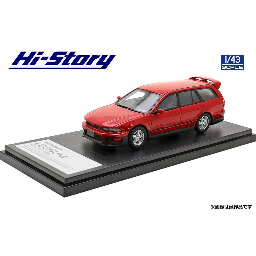 ハイストーリー [宅送] 1 43 MITSUBISHI LEGNUM Super パルマーレッド HS290RE 1998 VR-4 返品種別B ミニカー 激安通販