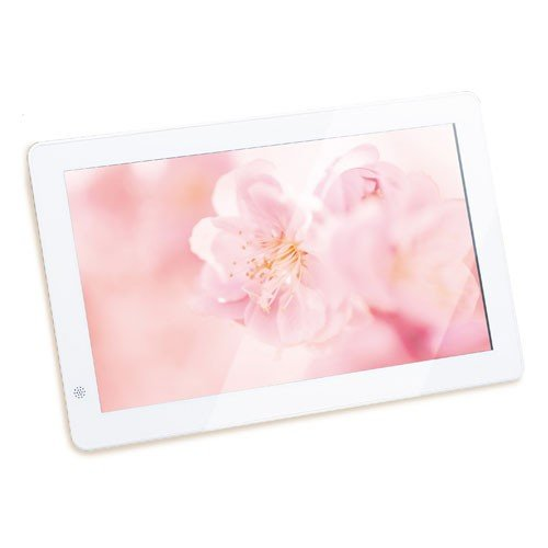 恵安 10インチワイド 通販 デジタルフォトフレーム ホワイト 返品種別A KD10FR-W 格安店