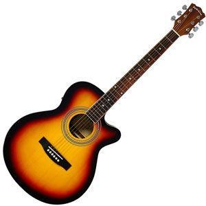 セピアクルー エレクトリックアコースティックギター(ヴィンテージサンバースト) SEPIA CRUE EAW-01/ VS 返品種別A