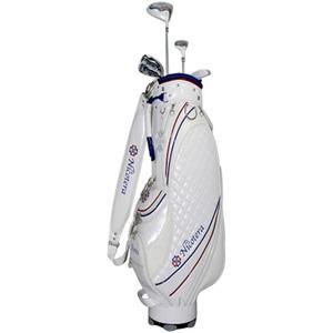 ニコテラ レディース ゴルフ ハーフ クラブセット 7本セット L キャディバッグ付 NICOTERA NTCS-5753 返品種別A