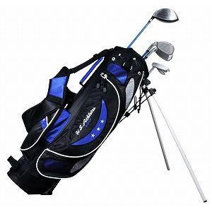 U.S.アスリート ジュニア用 ゴルフ クラブセット 4本セット スタンドバッグ付 初回限定 返品種別A U.S.Athlete USCS-5755 BL 身長130〜150cm ブル−9〜12歳対象 正規激安