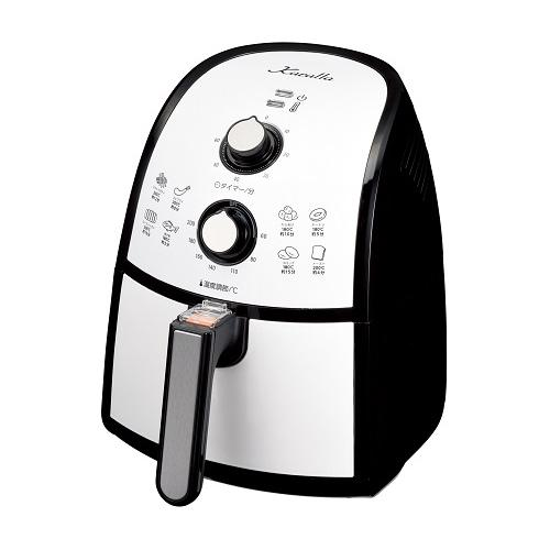 ショップジャパン ノンフライヤー 返品送料無料 Karalla カラーラ 返品種別A 熱風揚げ物調理機器 AWF006KD 丸型鍋付き ブランド買うならブランドオフ