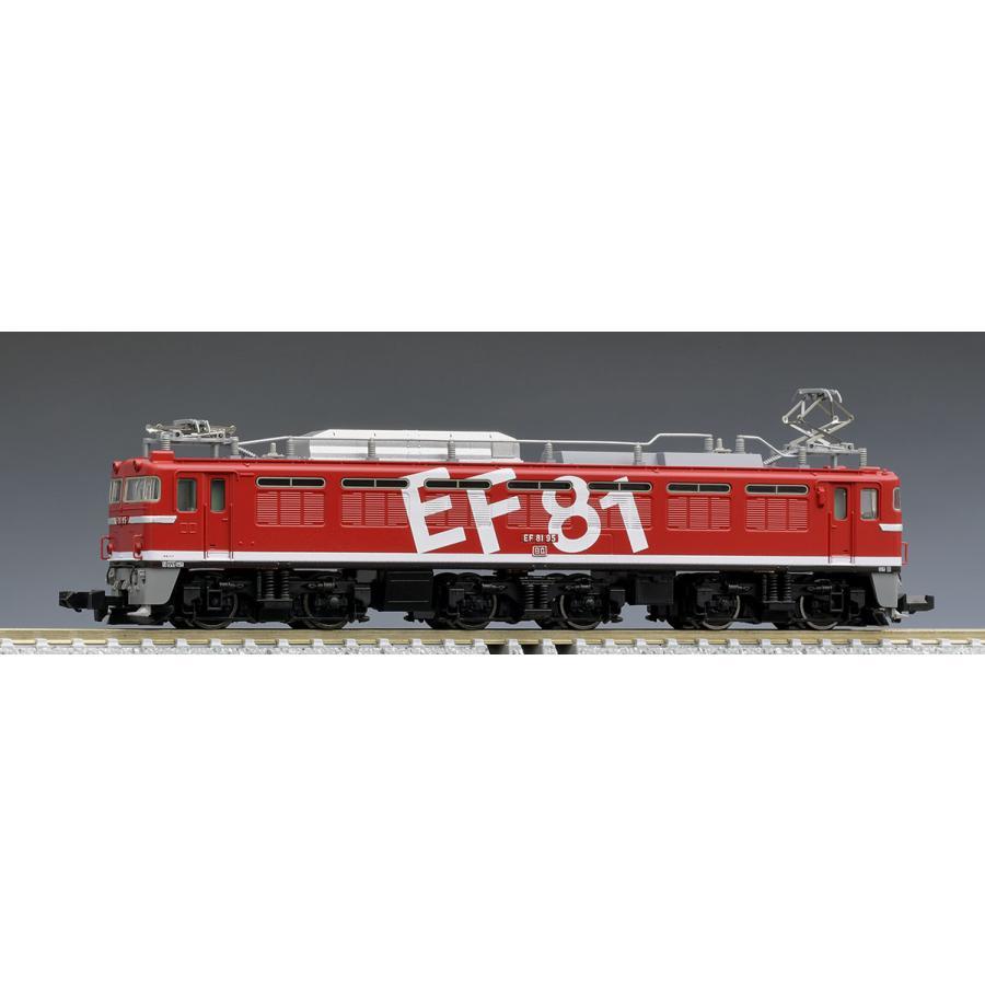 トミックス N 7153 JR お値打ち価格で EF81形電気機関車 国内送料無料 Hゴムグレー レインボー塗装 95号機 返品種別B