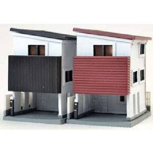トミーテック N ギフト オンライン限定商品 建物コレクション017-4 狭小住宅B4 返品種別B