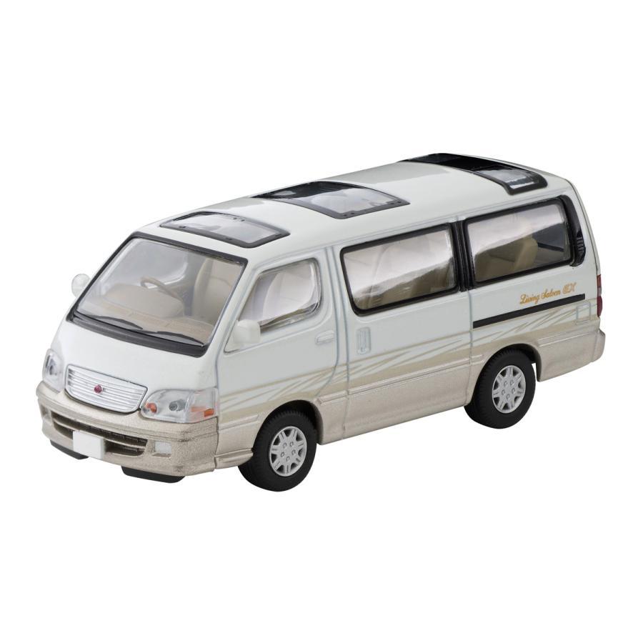 トミーテック 1 64 LV-N216a ハイエースワゴン リビングサルーン 312468 ベージュ 70%OFFアウトレット EX 返品種別B 白 ミニカー ブランド品