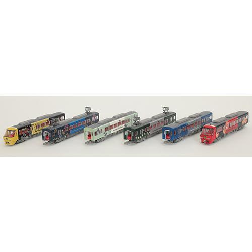 トミーテック N 鉄道コレクション 西日本鉄道8000形 返品種別B 期間限定お試し価格 6両編成セット 買取 水都 柳川観光列車