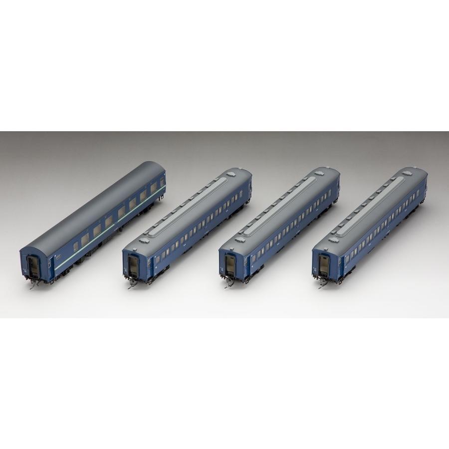 トミックス (HO) HO-9035 国鉄 10・32系寝台客車(青)セット(4両) 返品種別B