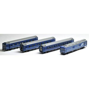 トミックス (HO) HO-9044 JR 24系24形特急寝台客車(あけぼの)基本 4両セット 返品種別B