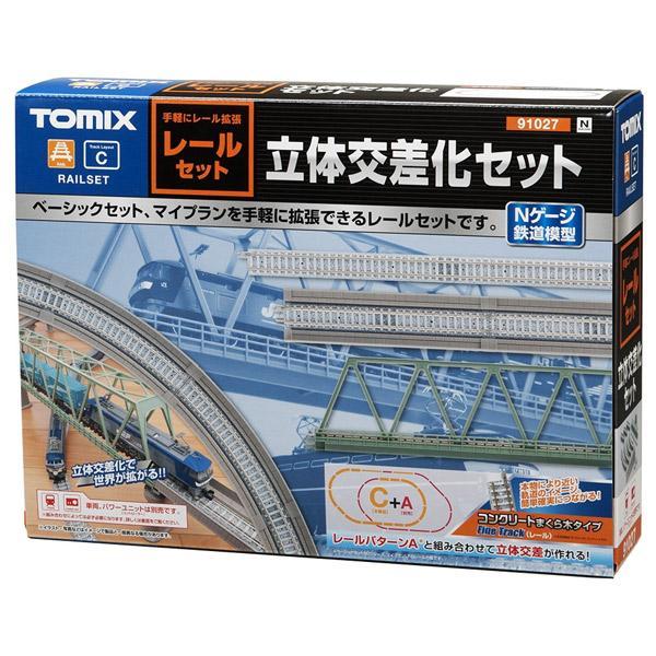 トミックス N 91027 レールセット立体交差化セット 絶品 PC枕木 輸入 返品種別B Cパターン