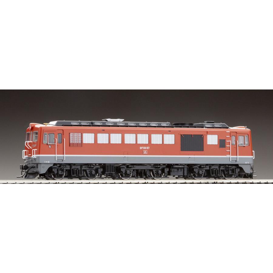 トミックス (HO) HO-210 国鉄 DF50形ディーゼル機関車(後期型·朱色) 返品種別B