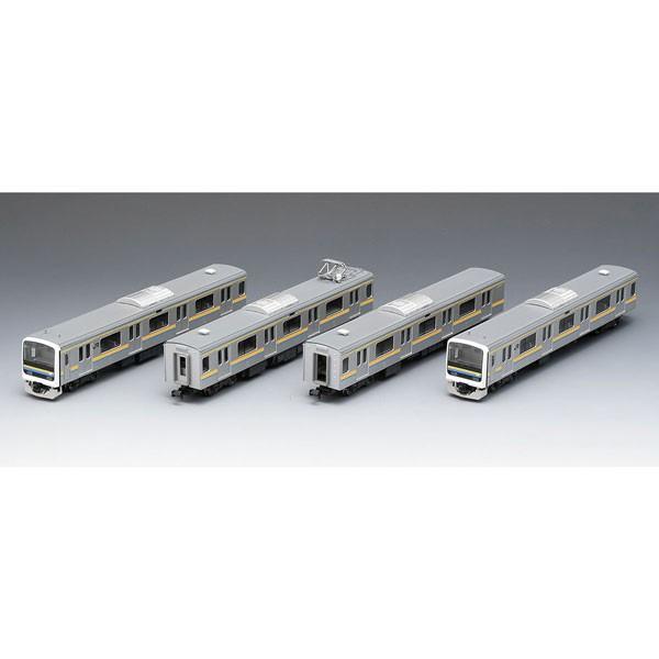 トミックス (再生産)(N) 98629 209-2100系通勤電車(房総色・4両編成)セット 返品種別B
