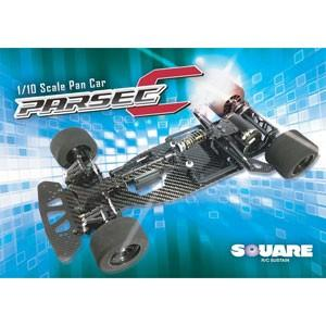 スクエア PARSEC-C スタンダード仕様 1/ 10 PAN CAR PARSEC-C (Standard Edition)(SEC-004)ラジコン 返品種別B