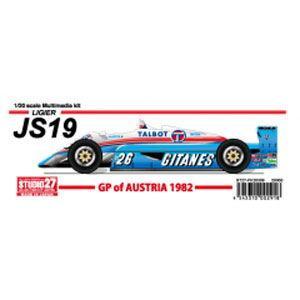 スタジオ27 1/ 20 JS19 オーストリアGP 1982(ST27-FK20309) 返品種別B