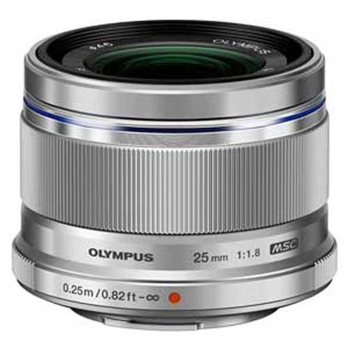 オリンパス M.ZUIKO DIGITAL 推奨 25mm F1.8 ※マイクロフォーサーズ用レンズ シルバー 期間限定今なら送料無料 25MMF1.8 返品種別A
