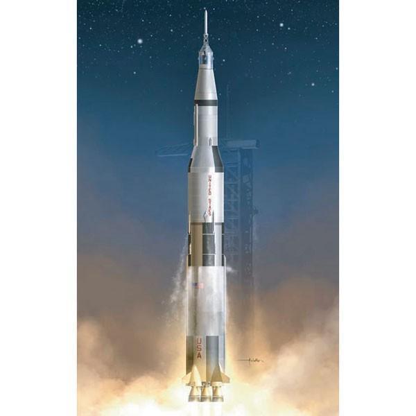 ドラゴンモデル 1/ 72 アポロ11号 サターンV型ロケット(DR11017)プラモデル 返品種別B