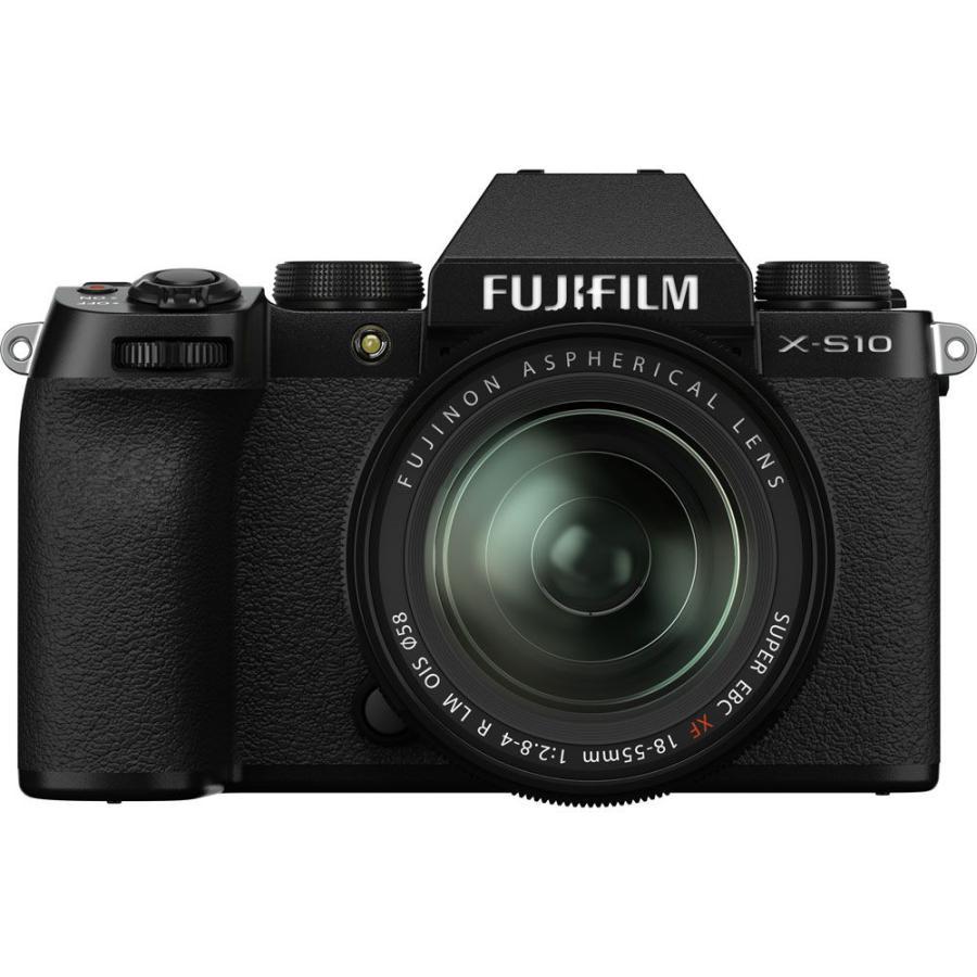 富士フイルム ミラーレス一眼カメラ 人気ショップが最安値挑戦 FUJIFILM X-S10 XF18-55mmレンズキット 返品種別A 2020秋冬新作 FX-S10LK-1855 フジフィルム XS10