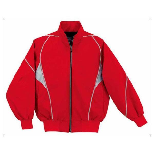 デサント 野球・ソフトボール用グラウンドコート(赤・サイズ:M) DESCENTE グランドコート DS-DR208-赤-M 返品種別A