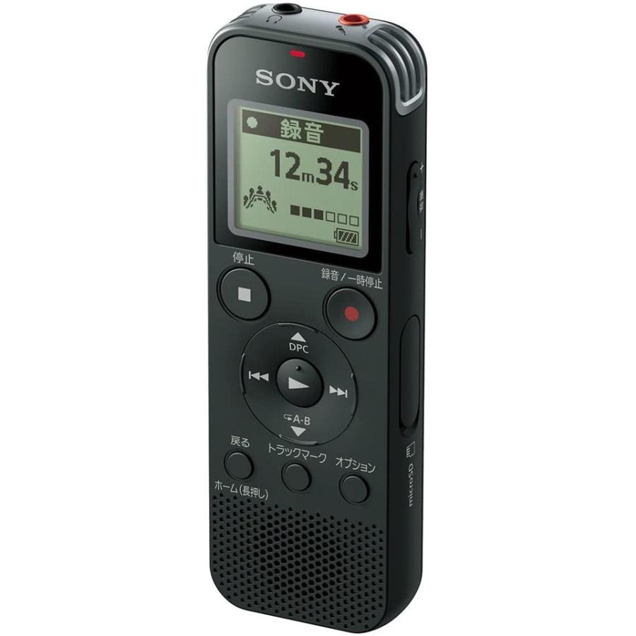 休日 ソニー リニアPCM対応ICレコーダー4GB内蔵+ オープニング 大放出セール 外部microSDスロット搭載 ブラック B 返品種別A ICD-PX470F SONY
