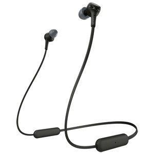 ソニー Bluetooth対応ダイナミック密閉型カナルイヤホン ブラック 直輸入品激安 WI-XB400-B 返品種別A 高級な SONY