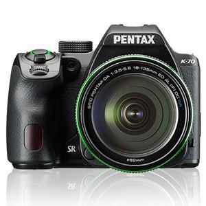 ペンタックス 新作入荷 デジタル一眼レフカメラ PENTAX K-70 18-135WR ブラック チープ 返品種別A レンズキット K-70-18-135ブラツク