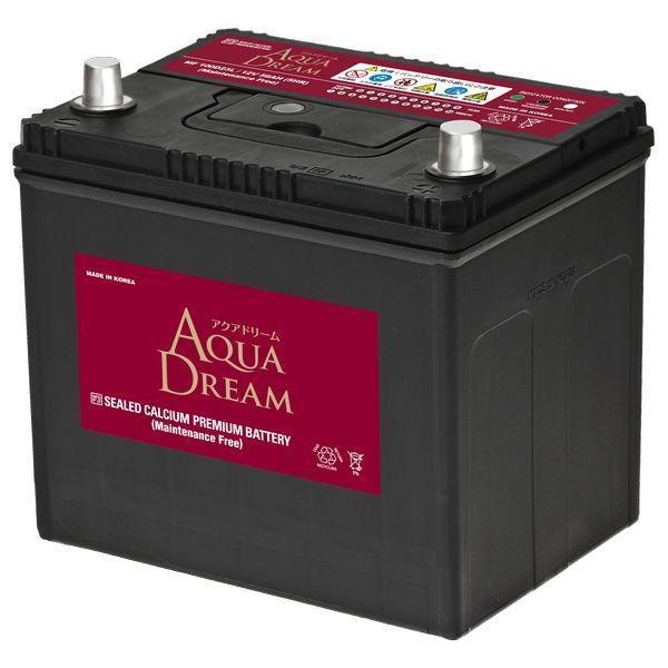 AQUA DREAM 国産車用バッテリー 待望 ついに入荷 メンテナンスフリー MF100D23L 充電制御車対応 他商品との同時購入不可 返品種別B