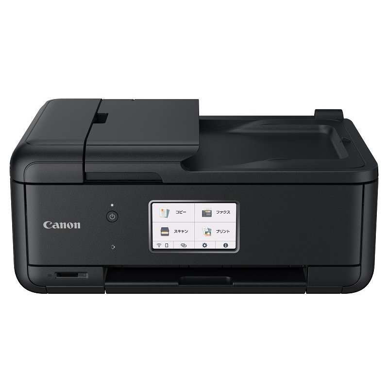 キヤノン A4プリント対応 インクジェットプリンタ複合機 ブラック Canon TR8630 2020 優先配送 返品種別A