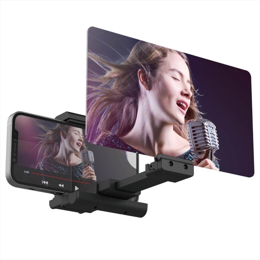 有名な エレコム スマホ用画面拡大鏡 最大3倍 激安セール 角度調整可 返品種別A ブラック P-LS3X01BK