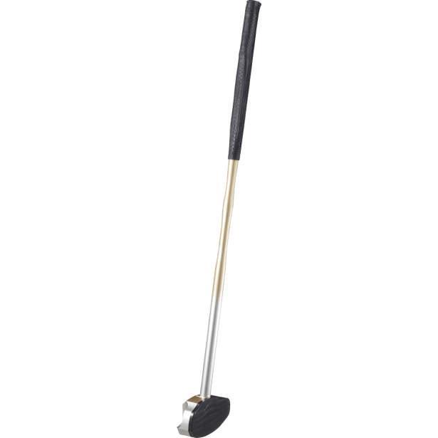 アシックス グラウンドゴルフ ライトウエイトクラブ(一般右打者専用)(ゴールド·サイズ:84cm) asics グラウンドゴルフクラブ GGG188-07-F 返品種別A