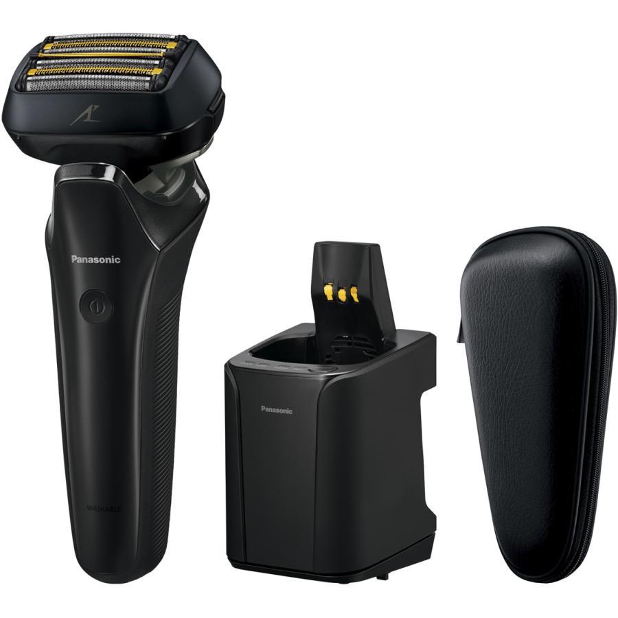 パナソニック 高級品 メンズシェーバー 未使用品 6枚刃 自動洗浄器付 クラフトブラック Panasonic ES-LS9N 返品種別A LAMDASH の限定モデル ラムダッシュ ES-CLS9N-K