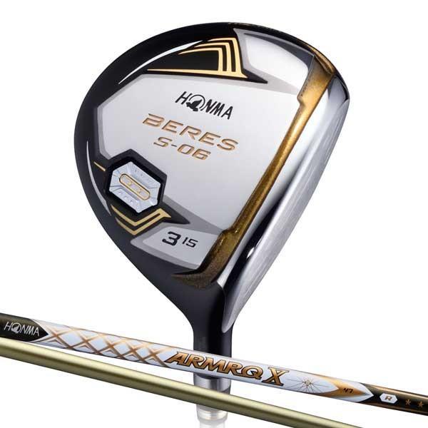 本間ゴルフ BERES S-06 フェアウェイウッド 2Sグレード ARMRQ X 47カーボンシャフト #7W フレックス:R BRS S-06 47-2S FW7R 返品種別A