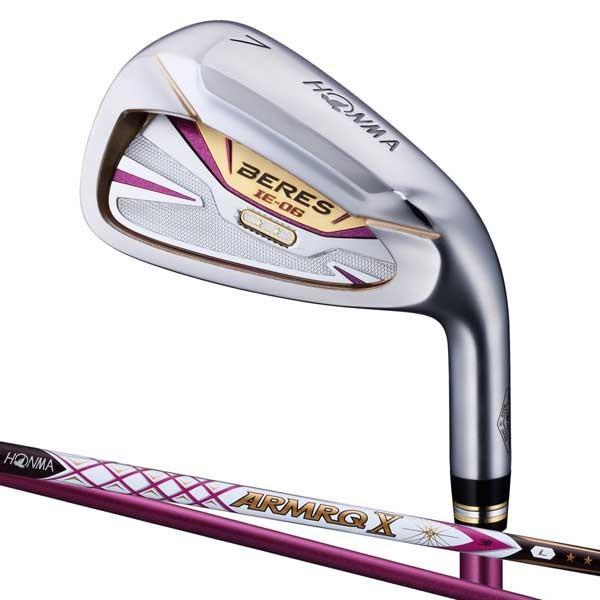 本間ゴルフ BERES IE-06LA レディースアイアン 3Sグレード ARMRQ X 38カーボンシャフト #11 フレックス:L BRS IE-06 38-3S 11IL 返品種別A