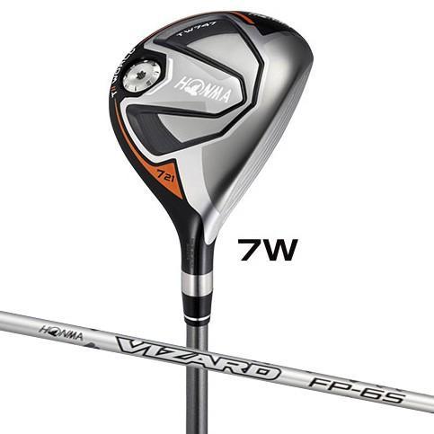 本間ゴルフ ツアーワールド TW747 フェアウェイウッド VIZARD FP-6シャフト #7W フレックス:X TW747-FW#7-FP6-X 返品種別A