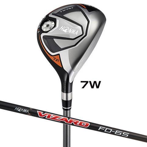 本間ゴルフ ツアーワールド TW747 フェアウェイウッド(受注生産) VIZARD FD-5シャフト #7W フレックス:SR TW747-FW#7-FD5-SR 返品種別B