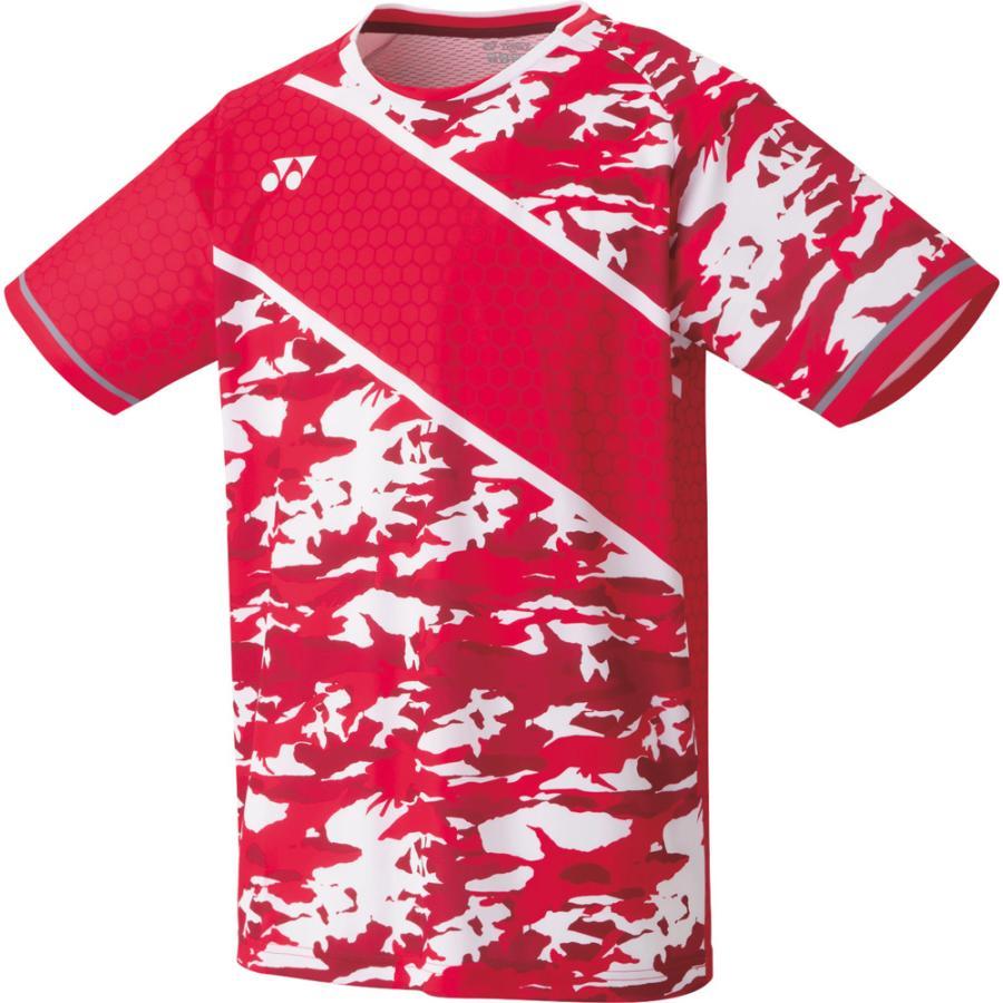 ヨネックス メンズ ゲームシャツ フィットスタイル フラッシュレッド YO-10336-639-O 人気商品 返品種別A YONEX お得クーポン発行中 サイズ:O