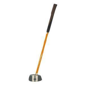 アシックス グラウンドゴルフ 一般用クラブ(一般右打者専用)(ブラック×ナチュラル·サイズ:F 長さ84cm) 3283A014-001-R840 返品種別A