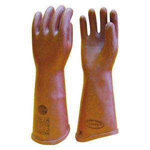 渡部工業 高圧ゴム手袋410mm小(B種) 510S 返品種別B