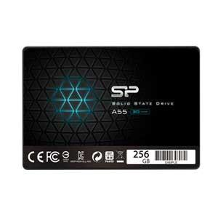シリコンパワー SiliconPower 返品交換不可 SSD A55シリーズ 256GB Ace A55 SPJ256GBSS3A55B 返品種別B お洒落
