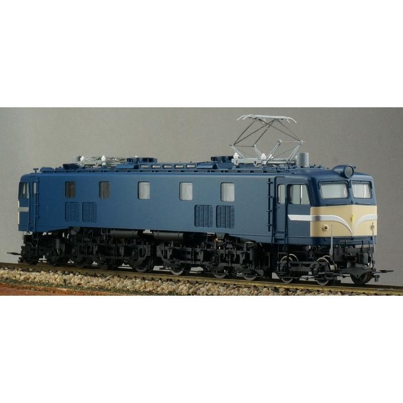 トラムウェイ (HO) TW-EF58-05 国鉄EF58小窓·黒Hゴム 前面警戒色(新標準色) 返品種別B