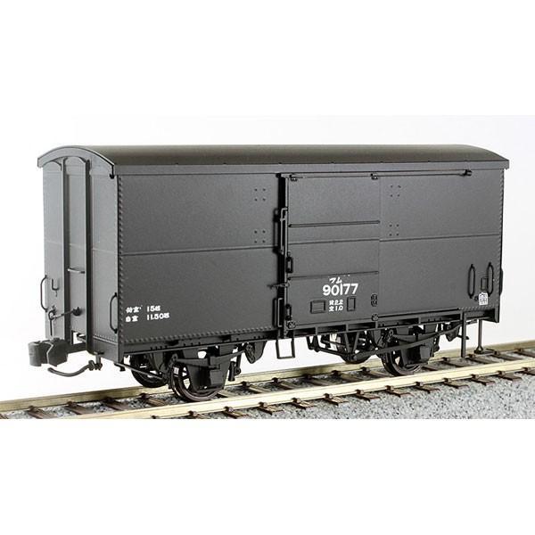 ワールド工芸 (再生産)(HO)16番 国鉄 ワム90000形 有蓋車 組立キット 返品種別B