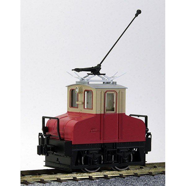 ワールド工芸 (再生産)(HO)16番 銚子電鉄 デキ3 2012年ポール仕様 電気機関車 組立キット 返品種別B